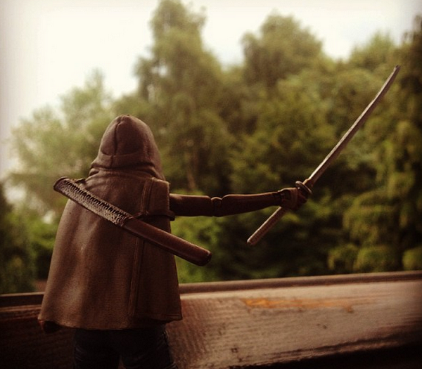 michonne actionfigur
