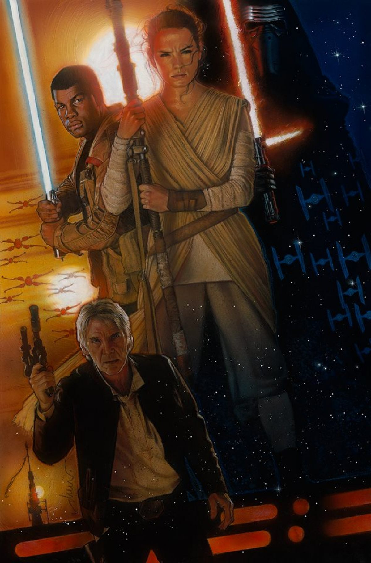 Drew Struzan The Force Awakens