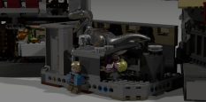 Lego Jurassic Park Visitor Center (1)