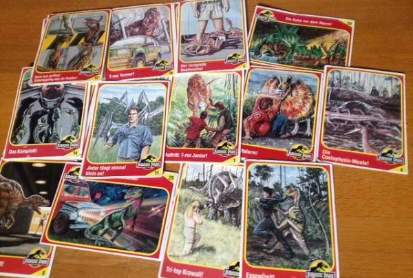 Jurassic Park Karten