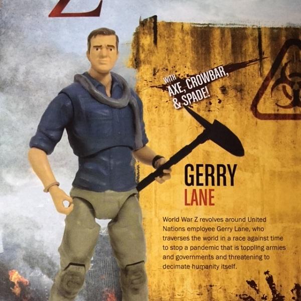 Brad Pitt Action Figure Wolrd War Z (1)