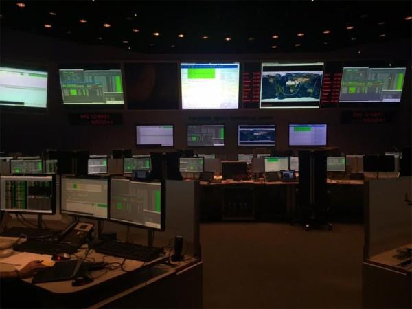 Marsianer-ESA-Kommandozentrale