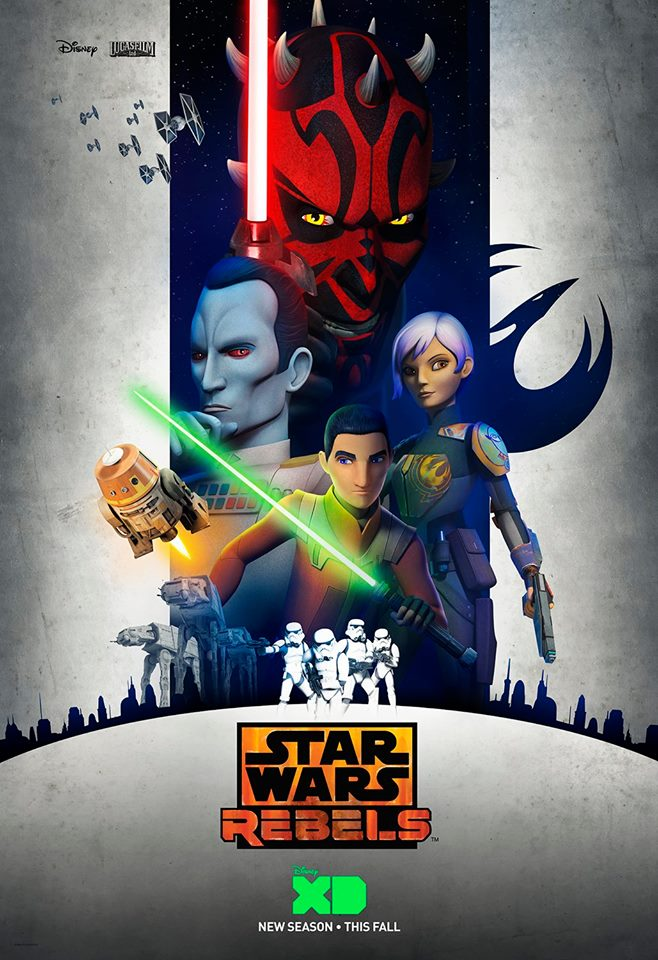 Star Wars Rebels Season 3 Poster